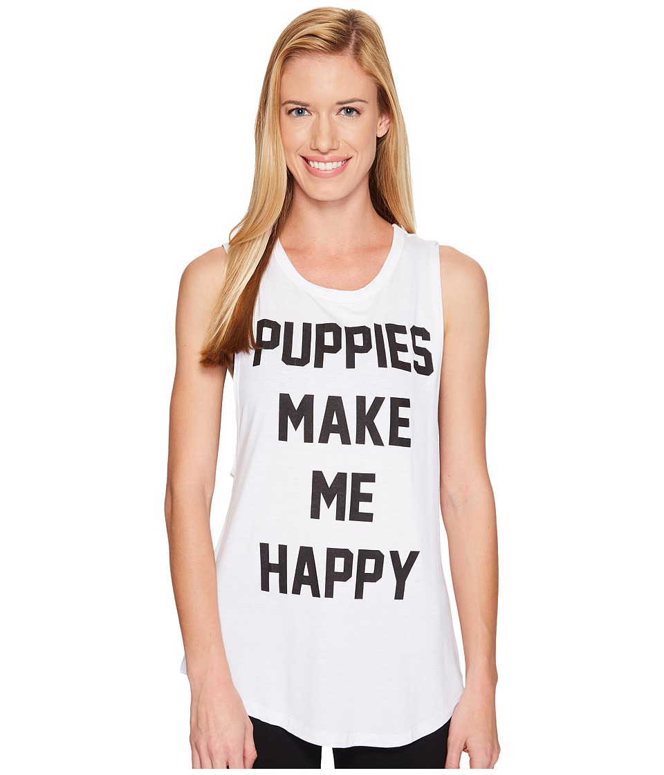 Puppies Make Me Happy - Title Tee - Sleeveless