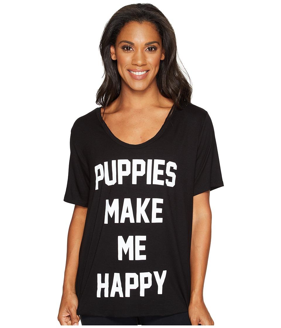 Puppies Make Me Happy - Title Tee - Weekend Tee