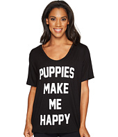 Puppies Make Me Happy - Title Tee - Weekend Tee