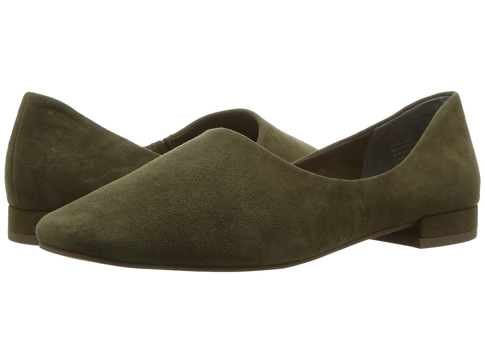 Seychelles Role (Olive Suede) Women