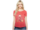Lucky Brand - Floral Triangle Tee