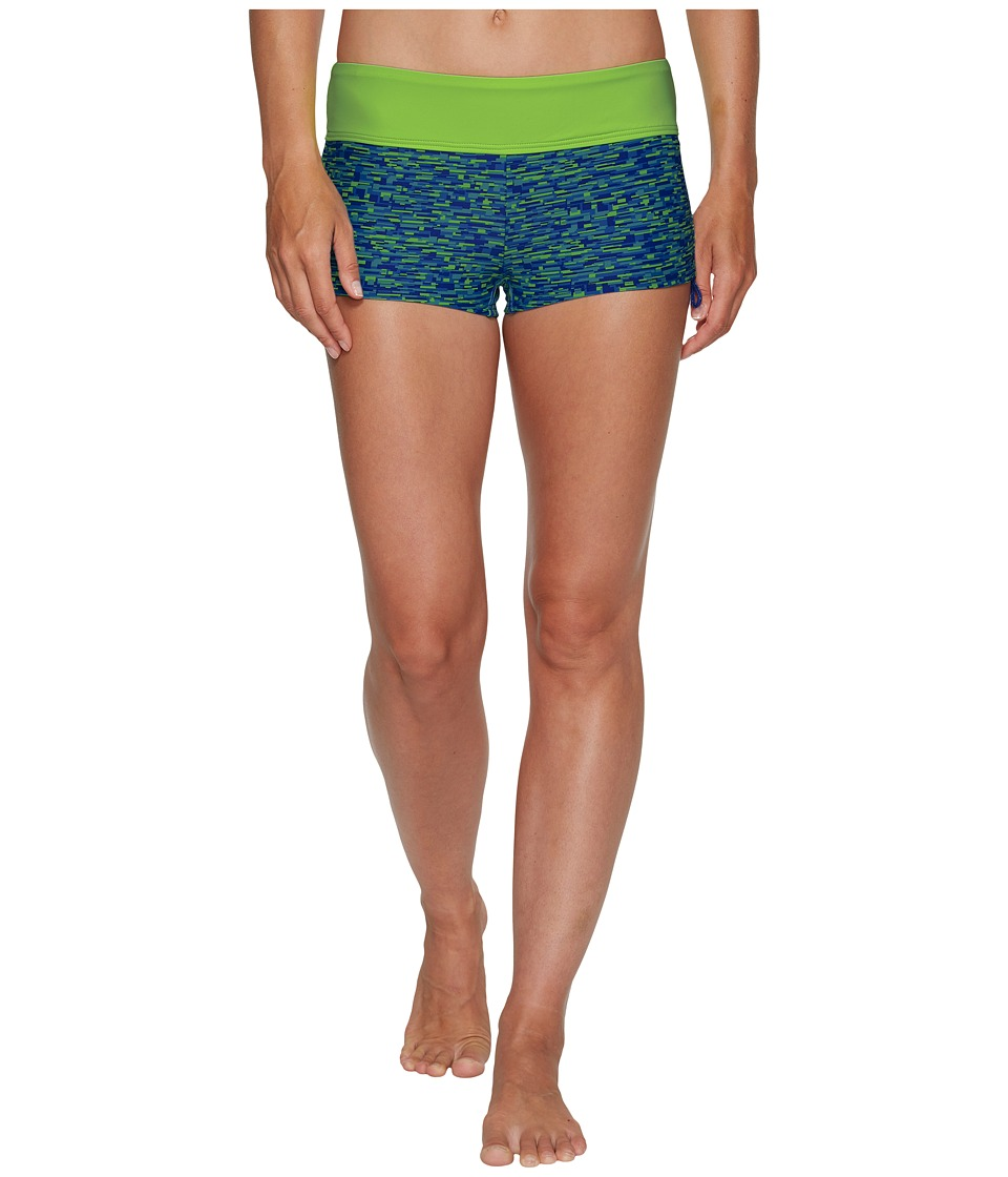 TYR Napa Della Boyshorts (Royal/Lime) Women
