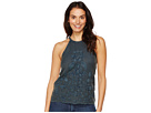 Lucky Brand - Embroidered Cut Out Top