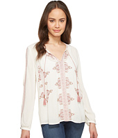 Lucky Brand - Vintage Embroidered Peasant Top