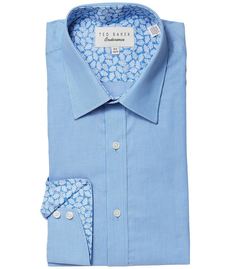 Ted Baker - Strem Dress Shirt (Blue) Men's Clothing