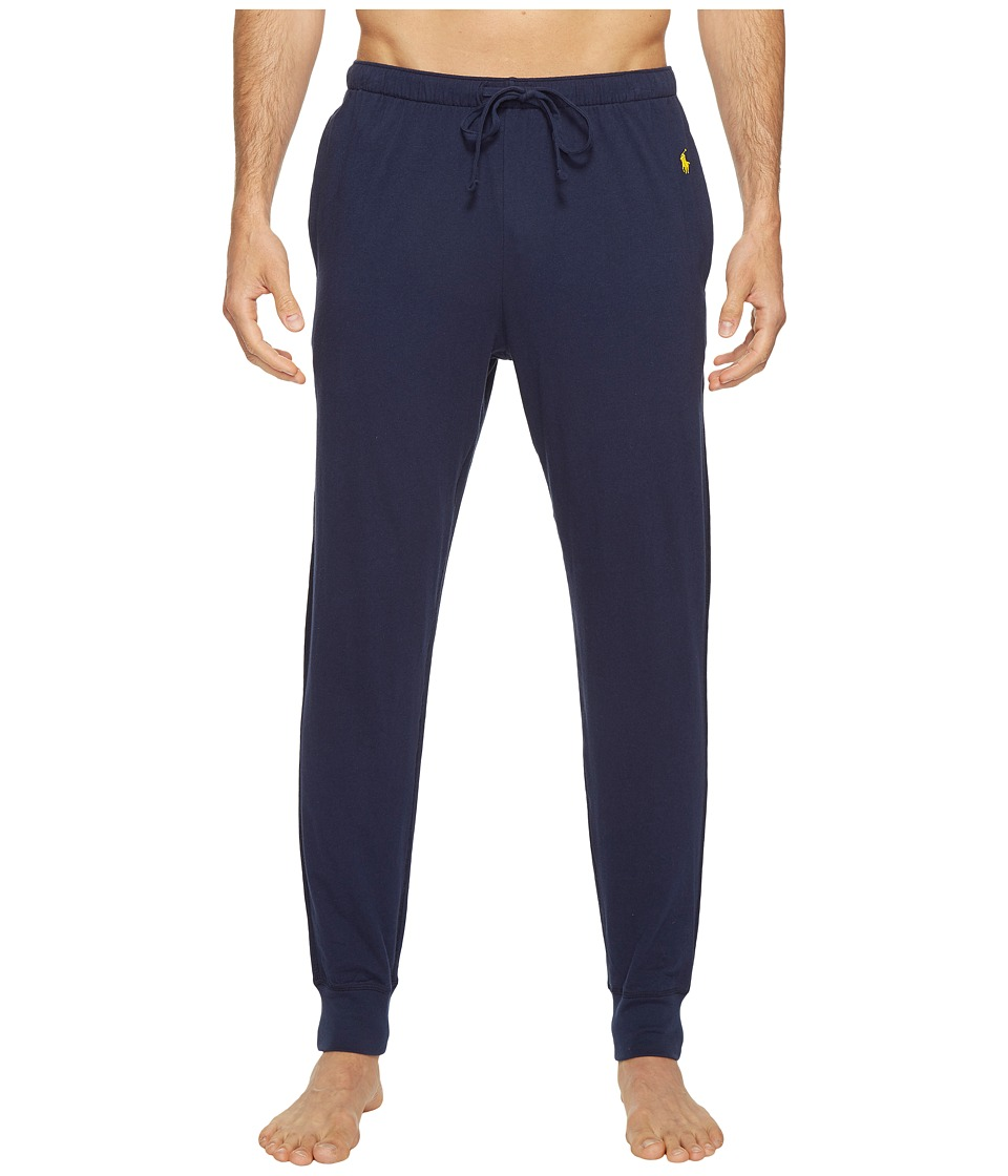 Ralph Lauren Relaxed Fit Jersey Jogger Pants (Cruise Navy...