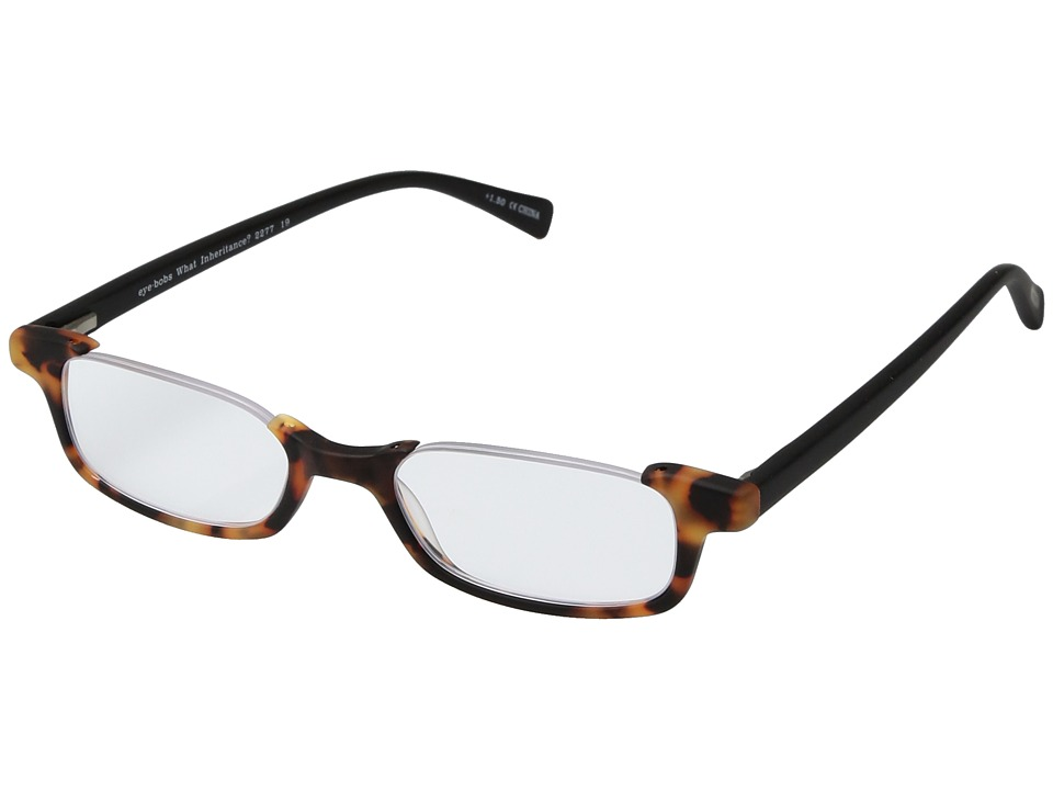 eyebobs - What Inheritance (Torte/Black) Reading Glasses Sunglasses