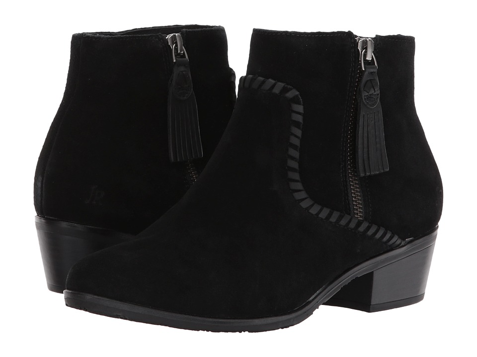 Jack Rogers Dylan Suede Waterproof (Black) Women