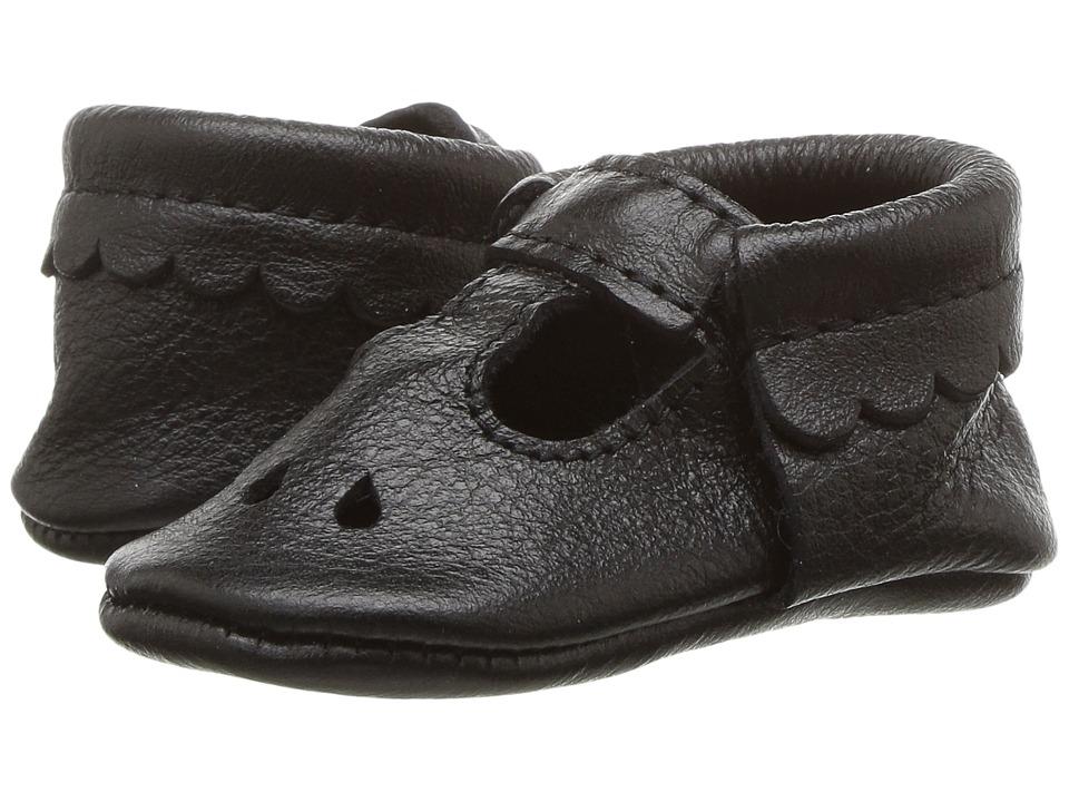 Freshly Picked Soft Sole Mary Jane (Infant/Toddler) (Ebony) Girl's Shoes