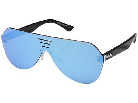 VonZipper Alt-Farva - Black Gloss/Flash Sky Blue