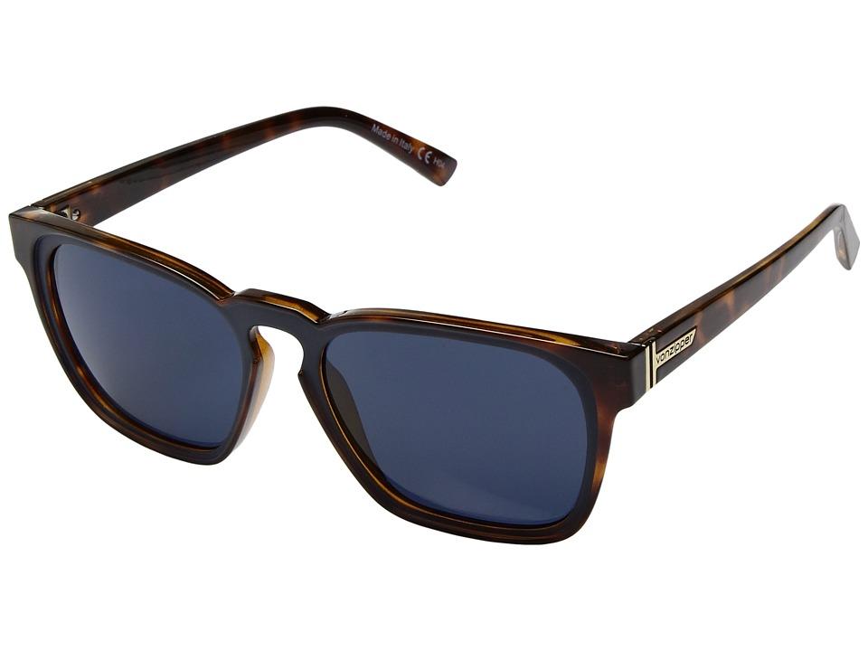 VonZipper Levee (Havana Tortoise/Navy) Sport Sunglasses