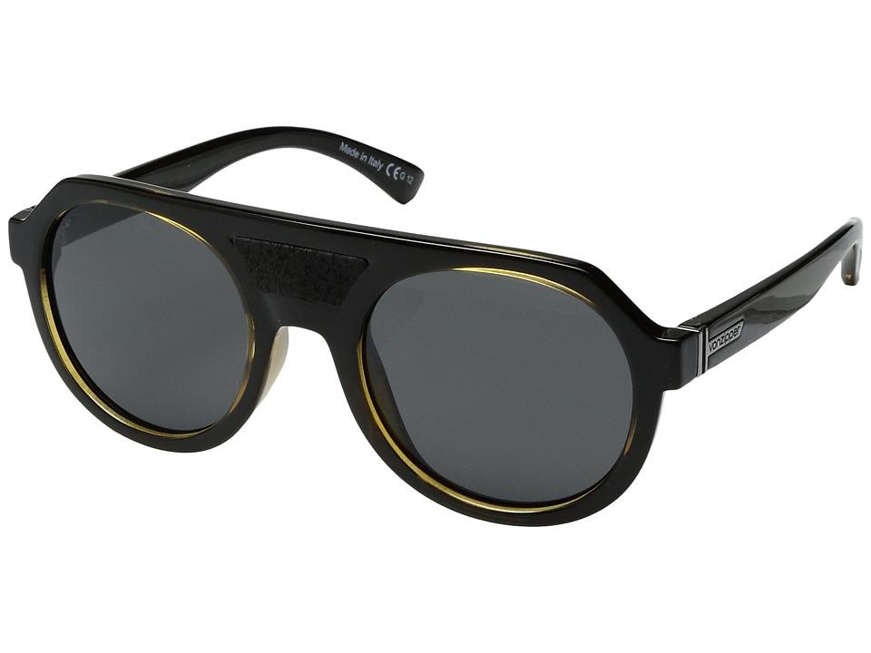 VonZipper Psychwig (Dark Side Buff/Grey) Sport Sunglasses