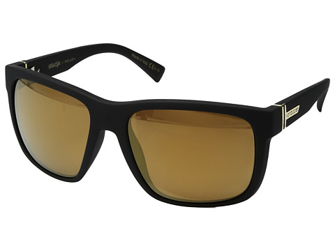 VonZipper Maxis Polar - Black Satin/Wild Gold Flash Polar Plus