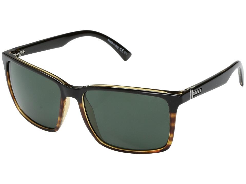 VonZipper Lesmore (Hardline Black Tortoise/Vintage Grey) Sport Sunglasses