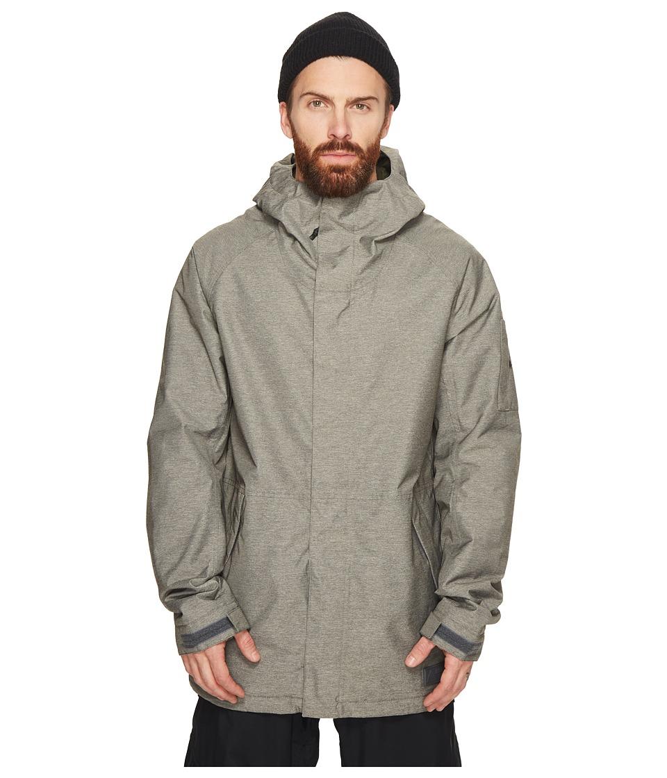 Burton Hilltop Jacket (Shade Heather) Men's Coat
