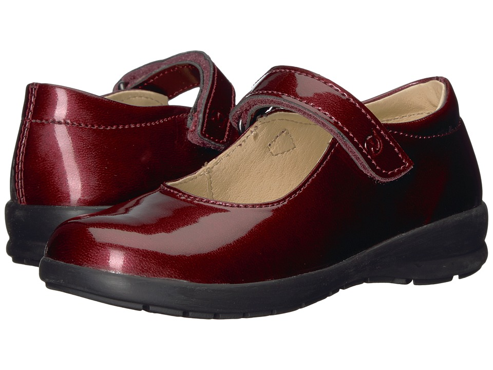 Naturino 4465 AW17 (Toddler/Little Kid/Big Kid) (Burgundy) Girl's Shoes