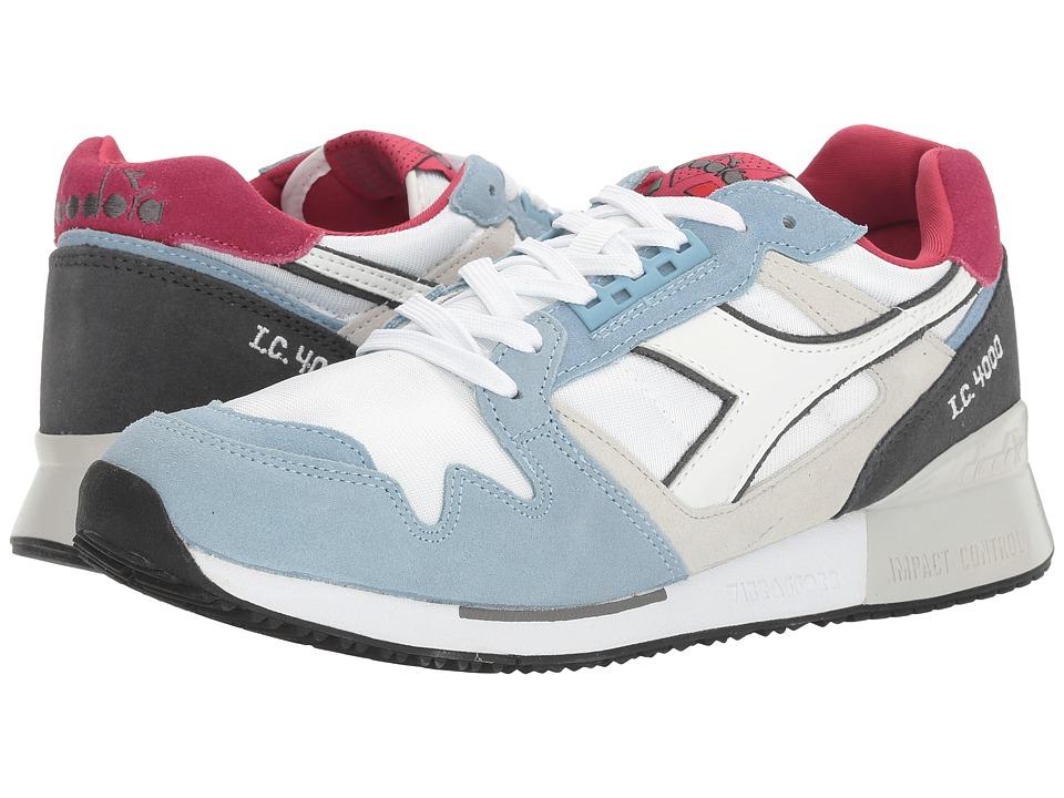 Diadora I.C 4000 NYL II (Blue Bell/Steel Gray) Athletic Shoes