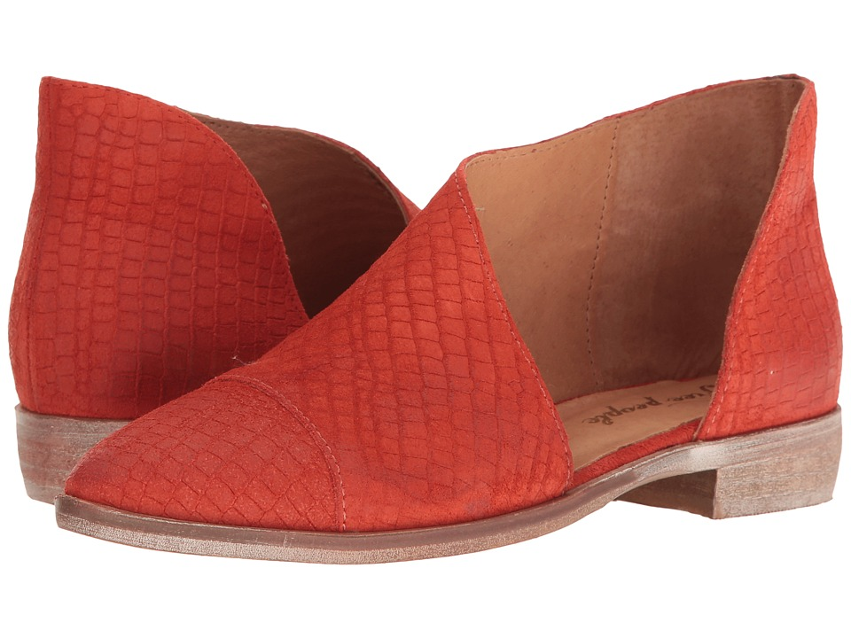 Free People Royale Flat (Bright Red) Women