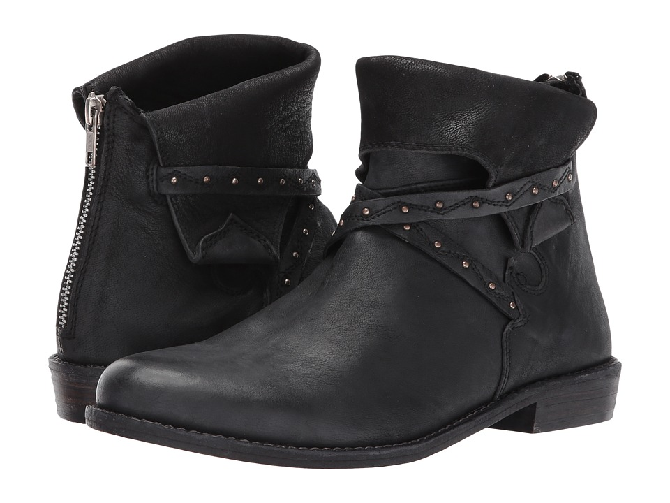 Free People Alamosa Ankle Boot (Black) Women