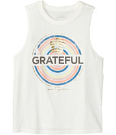 Spiritual Gangster Kids - Grateful Muscle Tank Top (Big Kids)