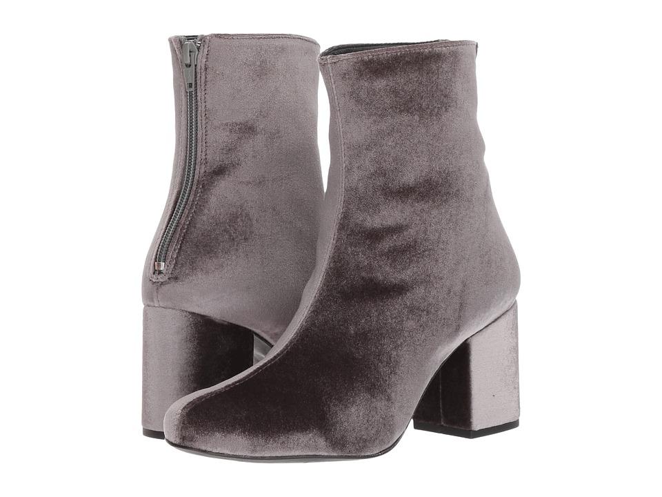 Free People Cecile Velvet Boot (Grey) Women