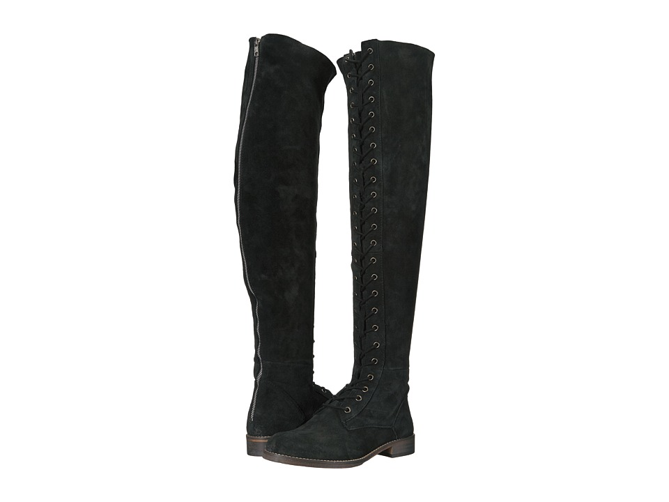 Free People Tennessee Lace-Up Boot (Black) Women