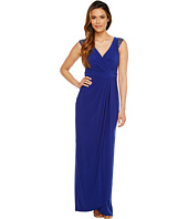 Adrianna Papell - Wrap Front Jersey Gown