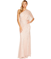 Adrianna Papell - One Shoulder Beaded Blouson Gown