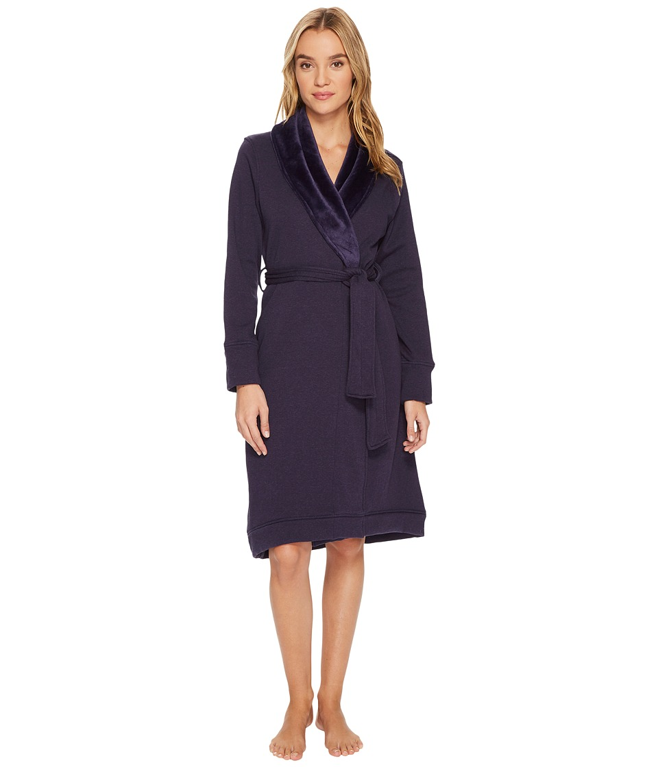 Ugg Duffield Robe (Nightshade Heather) Women's Robe
