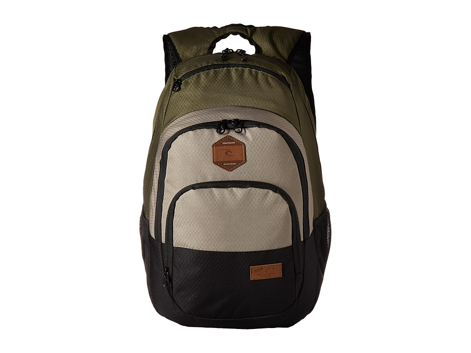 Rip Curl Overtime Backpack (Stacka Khaki) Backpack Bags