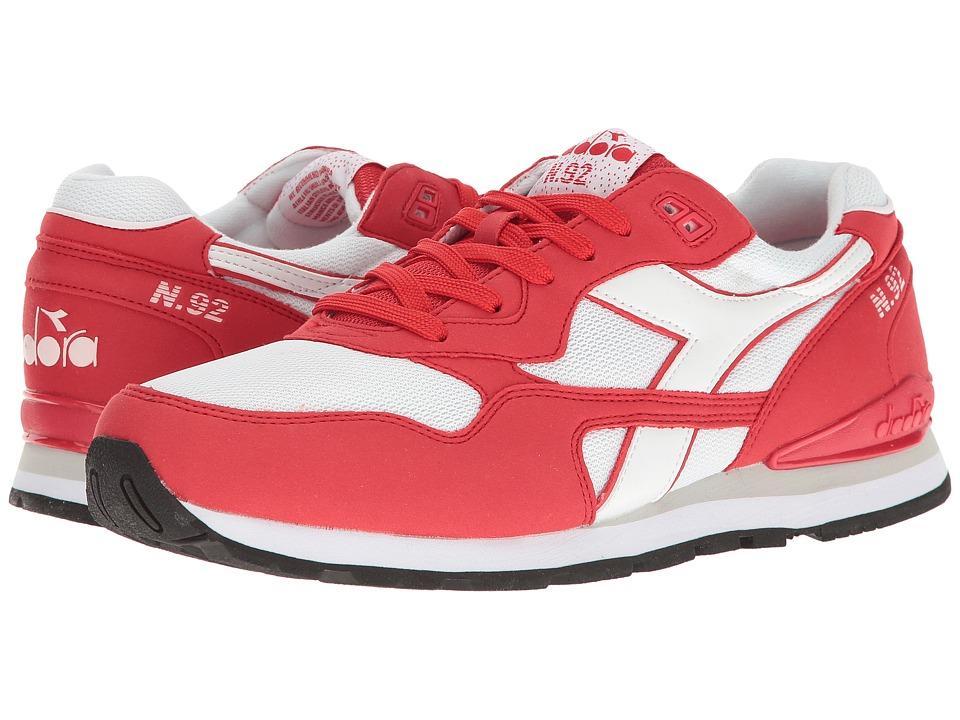 Diadora N-92 (Tomato) Athletic Shoes