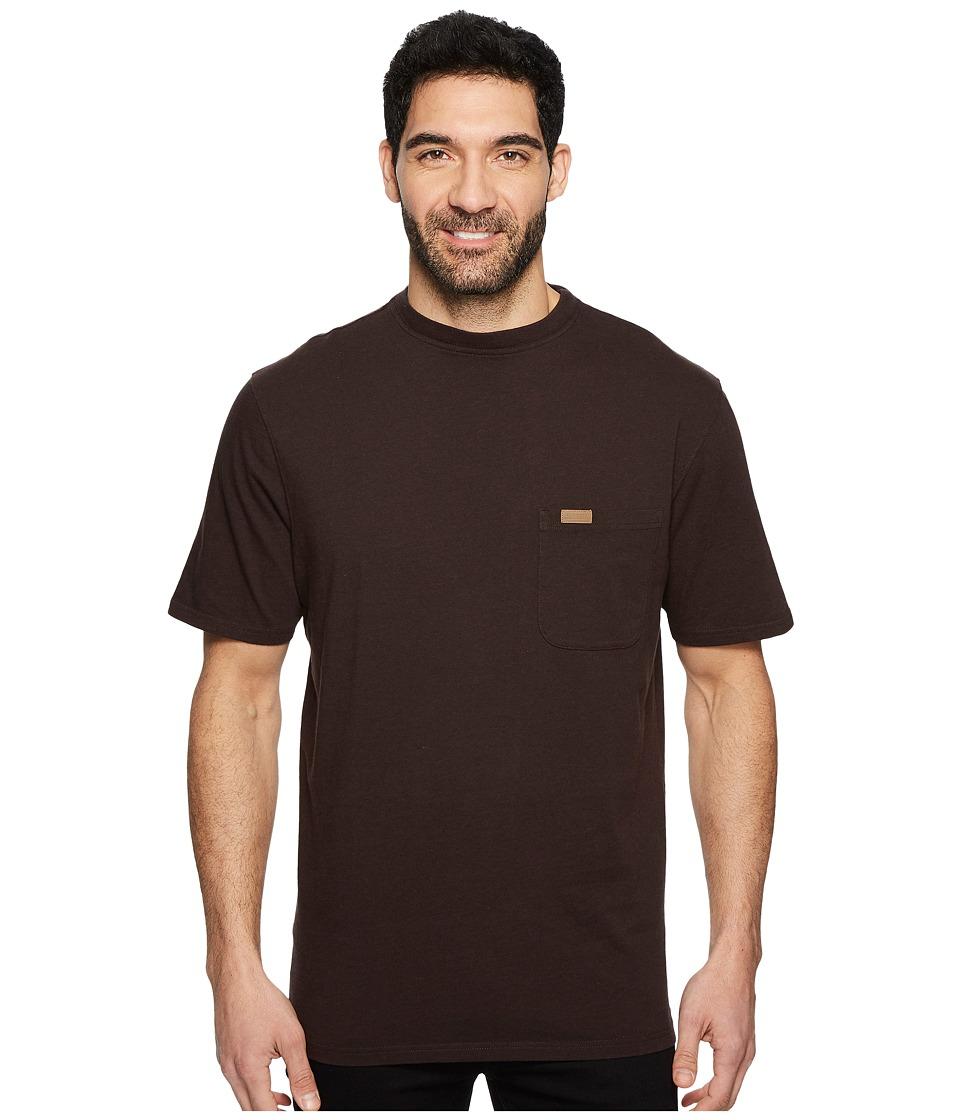 Pendleton S/S Deschutes Pocket Shirt (Smoke Brown) Men