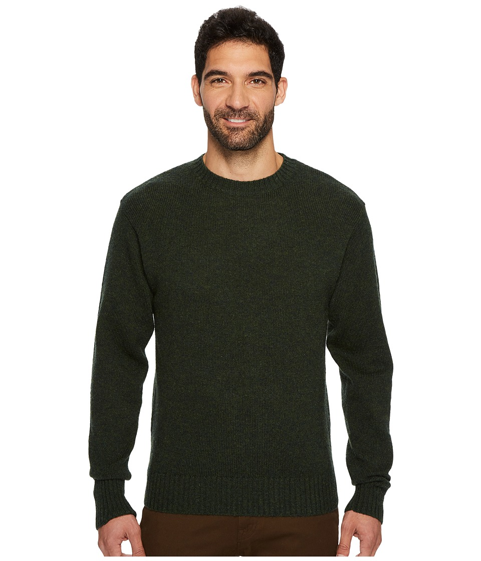 Pendleton - Shetland Crew Sweater (Juniper Green) Mens Sweater