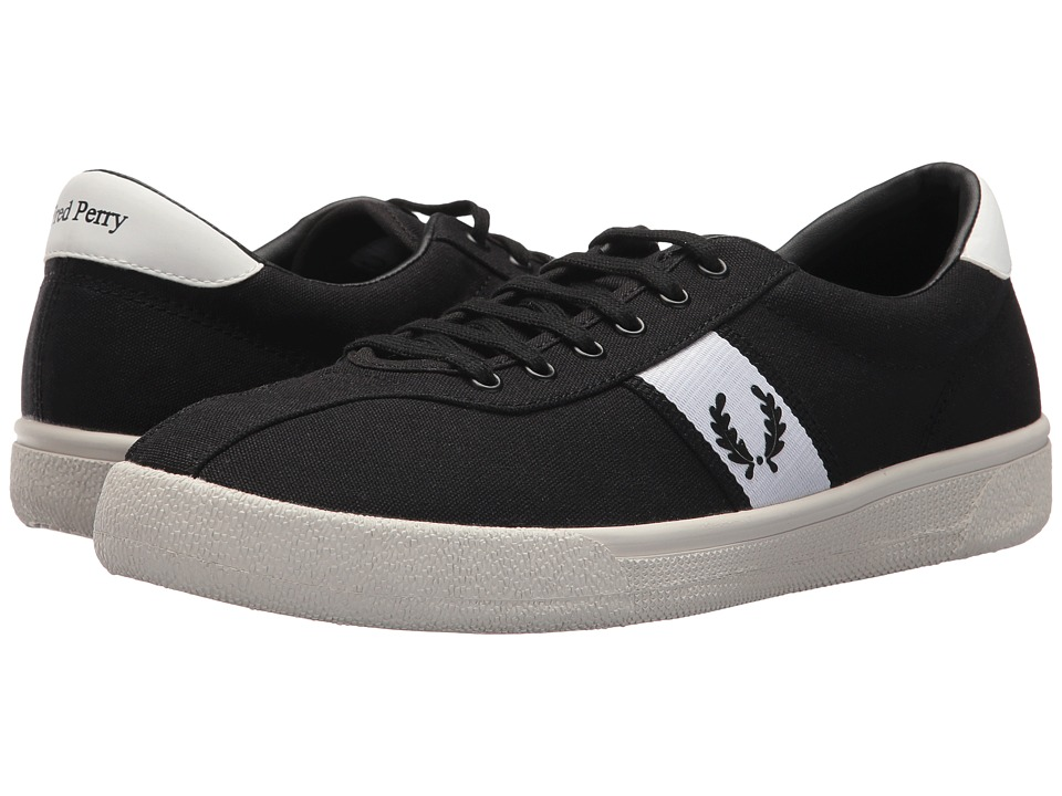 Fred Perry Tennis Shoe 1 Canvas (Black) Men