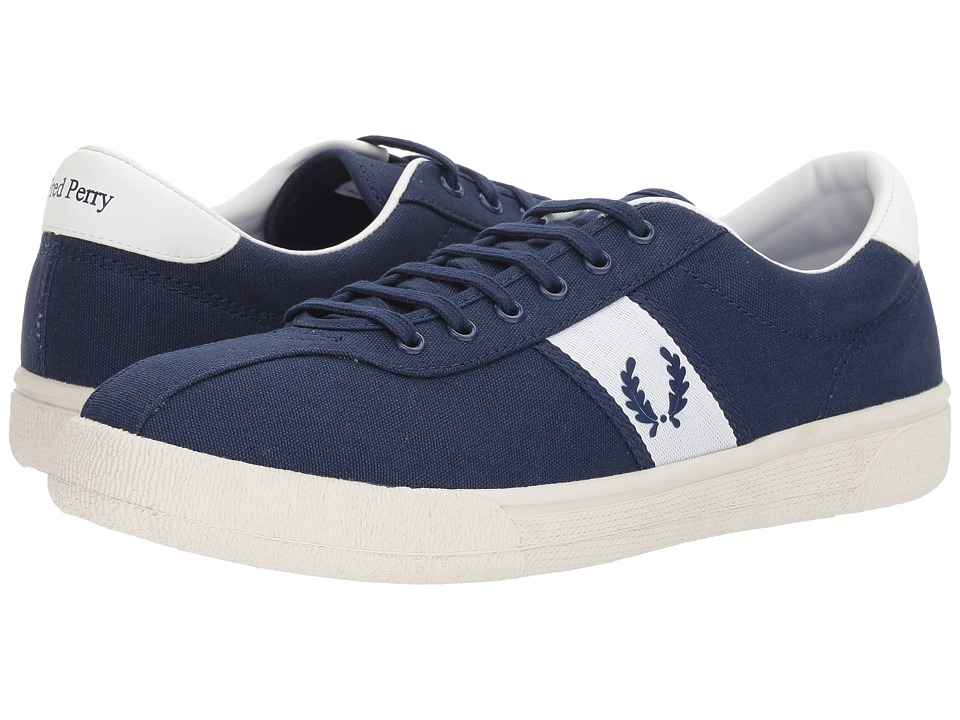 Fred Perry Tennis Shoe 1 Canvas (French Navy) Men