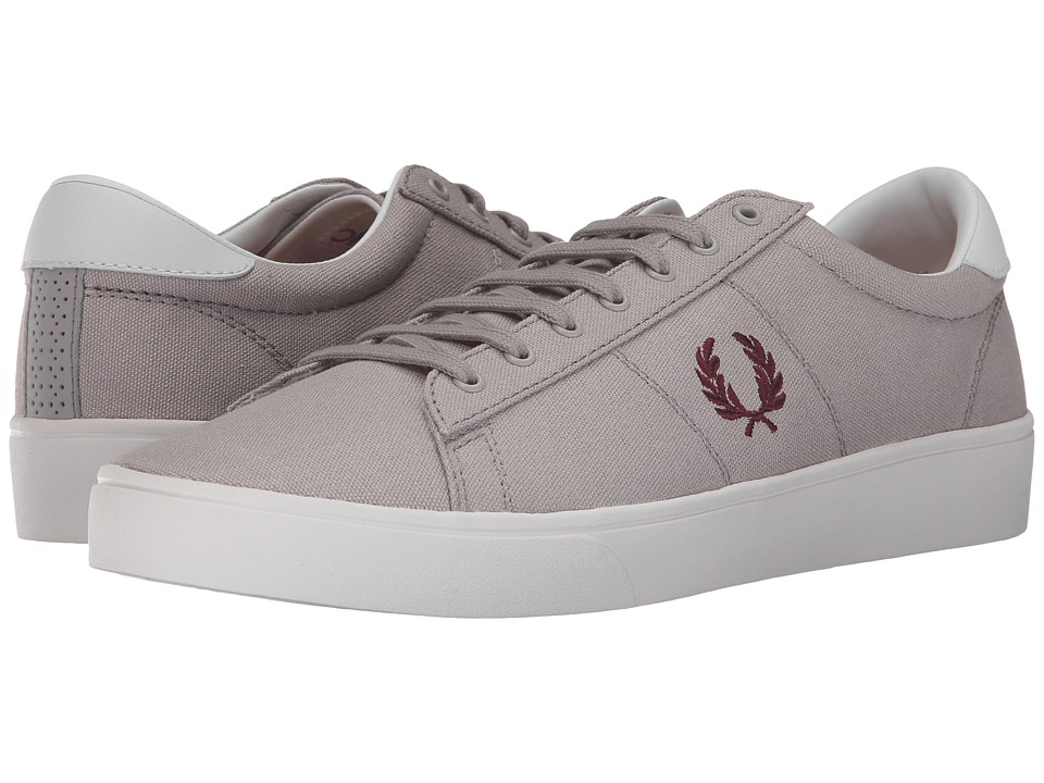 Fred Perry Spencer Canvas (1964 Silver/Port) Men