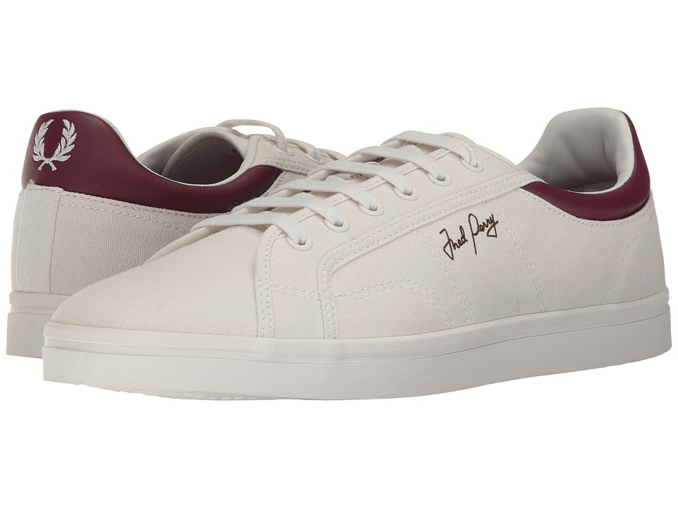 Fred Perry Sidespin Canvas (Porcelain/Port) Men