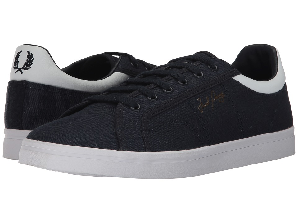 Fred Perry Sidespin Canvas (Navy/White) Men