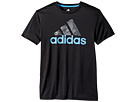 adidas Kids adidas Kids - Short Sleeve Pattern Fill Logo Tee (Big Kids)