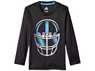 adidas Kids adidas Kids Long Sleeve Defense Helmet Tee (Toddler/Little Kids)