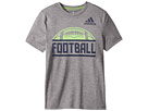 adidas Kids Short Sleeve Split Tee (Big Kids)