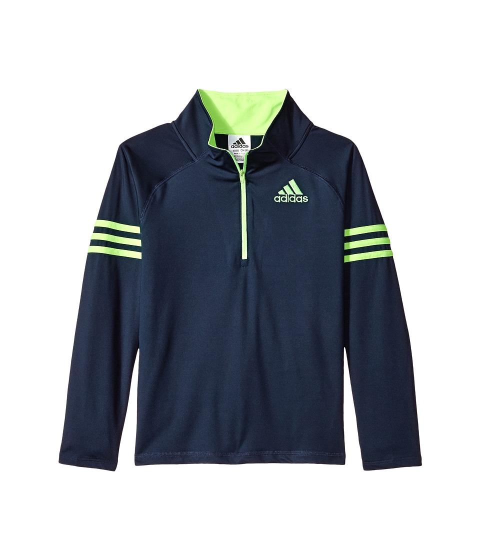 adidas Kids - Quarter Zip Pullover Top