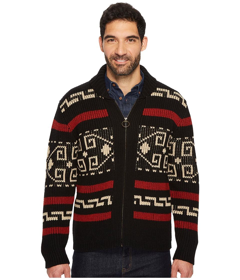Pendleton Westerley Sweater (Black/Cream) Men's Sweater