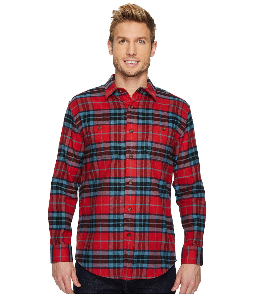 Pendleton - Hawthorne Flannel Shirt (MacTavish Tartan) Mens Long Sleeve Button Up