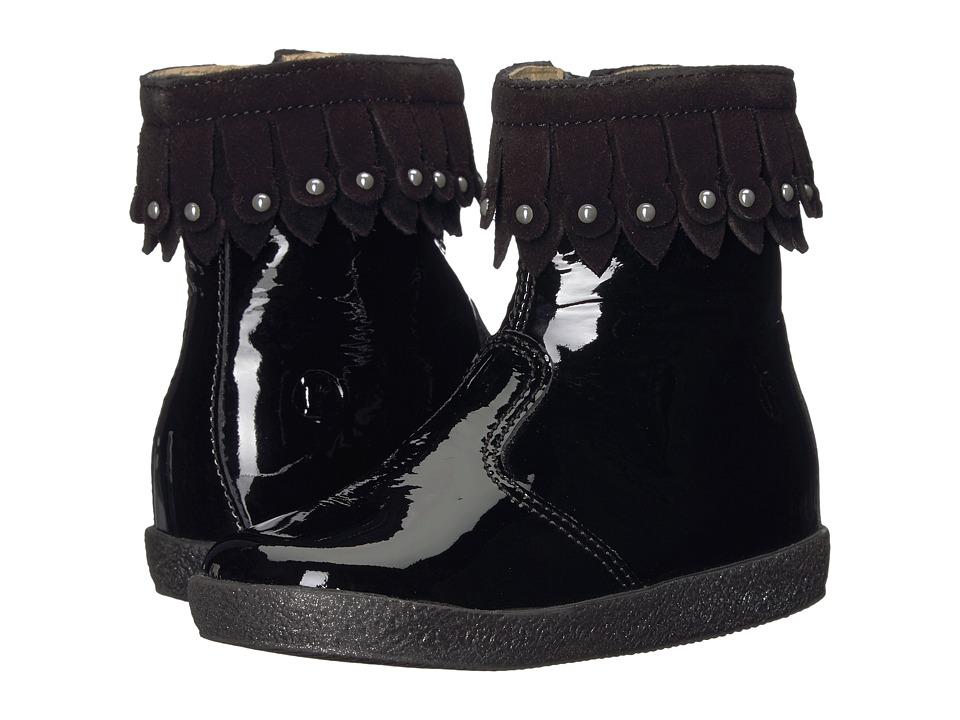 Naturino Falcotto 1596 AW17 (Toddler) (Black) Girl's Shoes