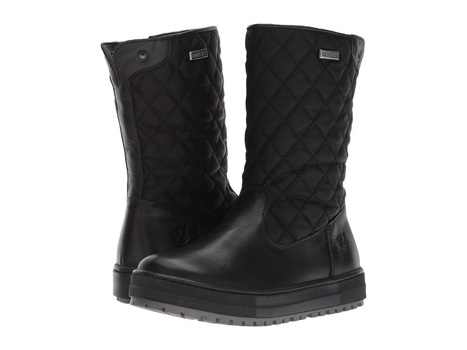 Naturino Lauca AW17 (Little Kid/Big Kid) (Black) Girl's Shoes