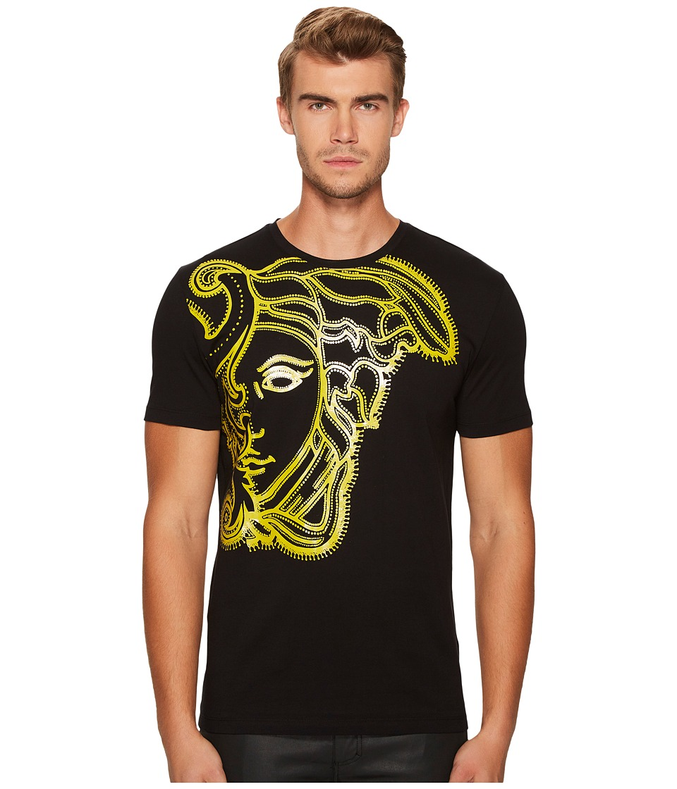 Versace Collection Medusa Tee (Black) Men