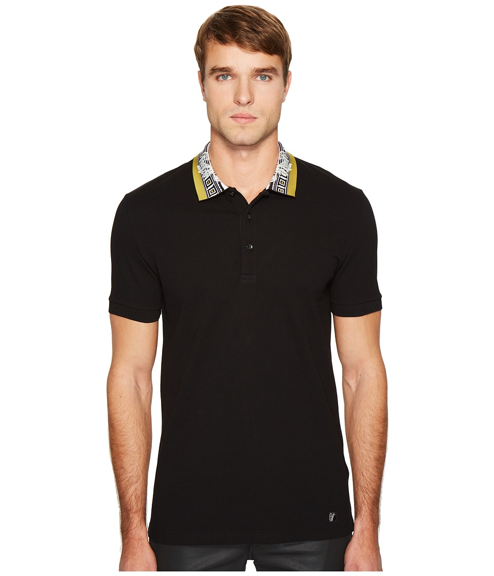 Versace Collection Polo Shirt (Black) Men