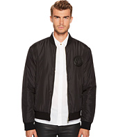 Versace Collection - Logo Patch Bomber Jacket