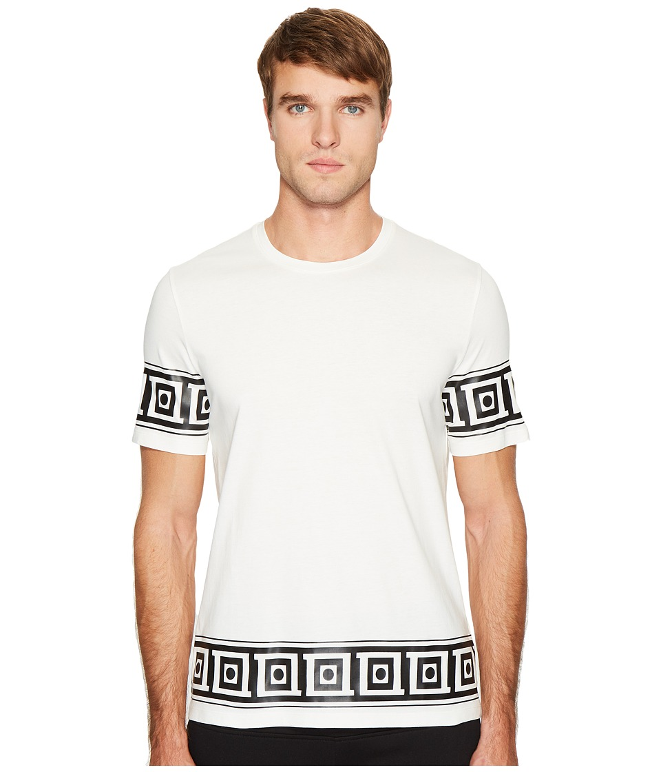 Versace Collection Logo T-Shirt (White) Men